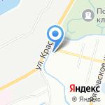 Реприз на карте Санкт-Петербурга