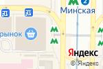 Схема проезда до компании Киоск по продаже самоцветов в
