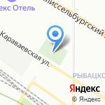 Церковь Знамения Пресвятой Богородицы на карте Санкт-Петербурга