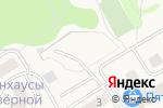 Схема проезда до компании Автостоянка в Кузьмоловском