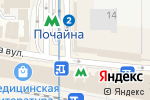 Схема проезда до компании Вацак в