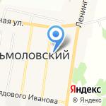 Кузьмоловская школа искусств на карте Санкт-Петербурга