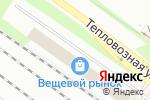 Схема проезда до компании МАР-СПОРТ в Санкт-Петербурге