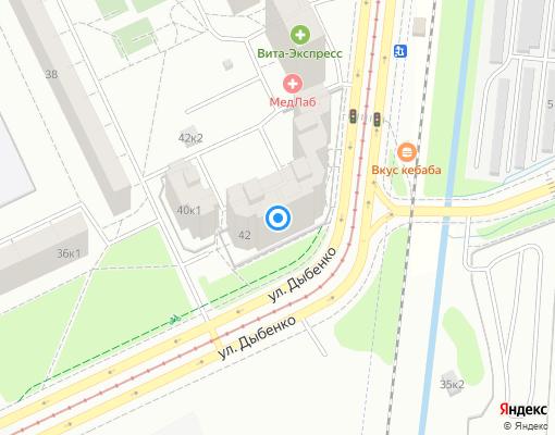 Товарищество собственников жилья «Дружба» на карте Санкт-Петербурга