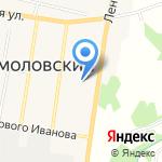 Кузьмоловский Дом Культуры на карте Санкт-Петербурга
