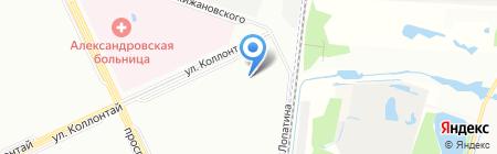 Детский сад №120 на карте Санкт-Петербурга