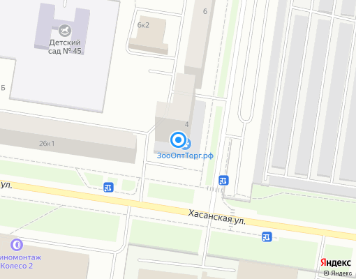 Товарищество собственников жилья «Белорусская-4» на карте Санкт-Петербурга