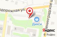 Схема проезда до компании ДИКСИ в Кузьмолово