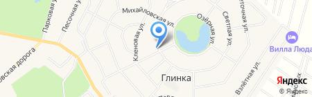 Онегин Парк на карте Фёдоровского