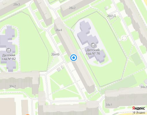 Товарищество собственников жилья «ТСЖ: СПб, ул.Коммуны, д.26, корп.4» на карте Санкт-Петербурга