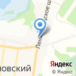 Кафе-пекарня на карте Санкт-Петербурга