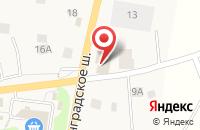 Схема проезда до компании Автофорум-Быт в Кузьмоловском
