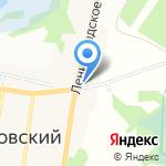 Магазин аксессуаров для мобильных телефонов на карте Санкт-Петербурга