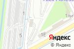 Схема проезда до компании Шиномонтажная мастерская в Кудрово