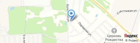 Ландыши на карте Фёдоровского