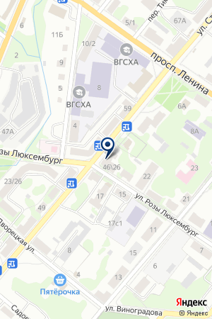 АПТЕКА ФИАЛКА на карте Великих Лук