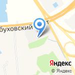 Питер-Дизель на карте Санкт-Петербурга