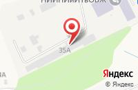 Схема проезда до компании Питер-Дизель в Мяглово