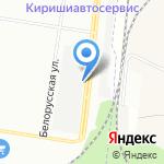 Тип-топ сервис на карте Санкт-Петербурга