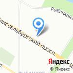 Ателье мод на карте Санкт-Петербурга