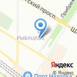 АльфаМед на карте Санкт-Петербурга