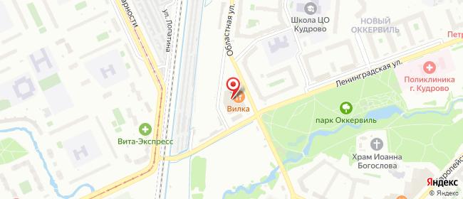 Карта расположения пункта доставки 6075 Постамат ОМНИСДЭК в городе Санкт-Петербург