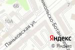 Схема проезда до компании Украинский генеральный институт по проектированию предприятий искусственного волокна в