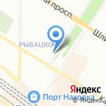 О`КЕЙ на карте Санкт-Петербурга