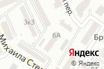 Схема проезда до компании Меморіал ім. В. Стуса в