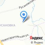 Любимка на карте Санкт-Петербурга