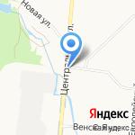МАВИС на карте Санкт-Петербурга
