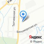 Средняя общеобразовательная школа №125 на карте Санкт-Петербурга