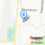 Средняя общеобразовательная школа №1 с дошкольным отделением на карте Санкт-Петербурга