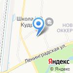 Лимпик на карте Санкт-Петербурга