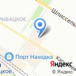 Меховая мастерская на карте Санкт-Петербурга