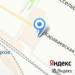 AirDance на карте Санкт-Петербурга