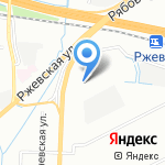 Стереос на карте Санкт-Петербурга