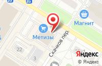 Схема проезда до компании Магазин мебели в Санкт-Петербурге