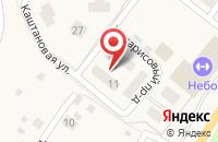 Схема проезда до компании Небо в Кузьмолово