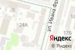 Схема проезда до компании Ніафарм, ТОВ в