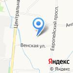 А & E на карте Санкт-Петербурга