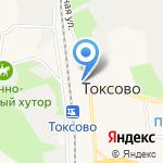 Кузьмоловский хлеб на карте Санкт-Петербурга