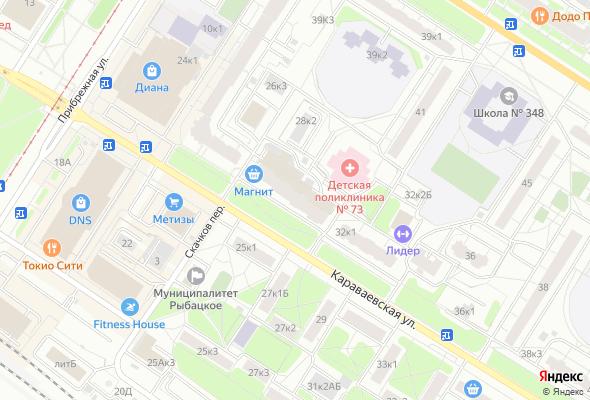 купить квартиру в ЖК ЦДС Караваевская, 26