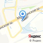 Euro Truck Parts на карте Санкт-Петербурга