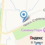 Счастье на карте Санкт-Петербурга