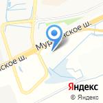 Дачный рай на карте Санкт-Петербурга