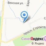 Багетто на карте Санкт-Петербурга
