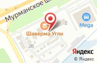 Схема проезда до компании Терем-Плюс в Кудрово