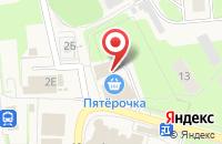 Схема проезда до компании Этюд в Кузьмоловском