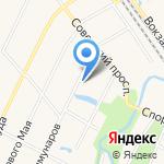 Петро-Слав на карте Санкт-Петербурга